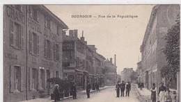 38 / BOURGOIN / RUE DE LA REPUBLIQUE/ GRAND HOTEL DU NORD - Bourgoin