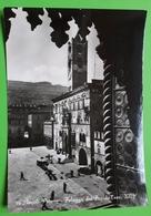 Cartolina - Ascoli Piceno - Palazzo Del Popolo ( Sec. XIII ) - 1954 - Ascoli Piceno