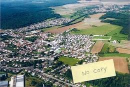 Bettancourt-la-Ferrée - Vue Aérienne Et Stade De Football, Terrains De Tennis (photo) - Autres Communes