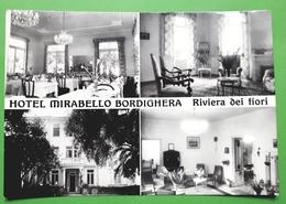 Cartolina - Hotel Mirabello - Bordighera - Riviera Dei Fiori - 1950 Ca - Imperia