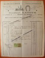NOGENT LE ROTROU Eure Et Loir 28 Rue Bretonnerie Facture Illustrée 1925 Constant Lavoué Maréchalerie Taillanderie - France