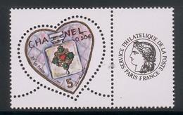 3632 A Et 3633A  Coeur Cacharel Les Deux Paires Avec Cérès Et Les Timbres Personnalisés 2003 - Personalizzati