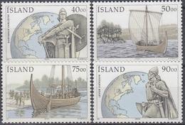 ++Iceland 2000. Vikings. Michel 945-48. AFA 930-33. MNH(**) - Nuovi