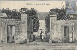 89, Yonne, CHEMILLY, Chateau De La Motte, Scan Recto-Verso - France