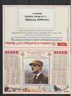 Calendrier 2000 Couverture Charles De Gaulle - Calendarios