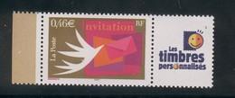 3479 A  - Invitation - La Paire Avec Cérès Et Les Timbres Personnalisés 2002 - Personalizzati