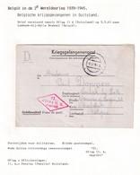 DDW788 - Formule De Prisonnier 1943 Vers LEMBEEK Lez HALLE - Cachet OFLAG II ( Penzlau ) - Guerre 40-45