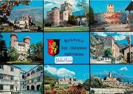 CPSM Souvenir Des Châteaux Valdôtains             L3004 - Italia