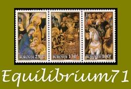 1014/1019** - Noël 1992 / Kerstmis 1992 - BURUNDI - Burundi