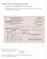 DDW789 - Formule De Prisonnier Carte-Réponse SPA 1943 Vers Stammlager XIII B - Censure Du Camp - Guerre 40-45