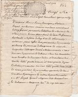 MANUSCRIT-18EME-ACTE DE RENTE-FAIT PAR MONSEIGNEUR DE LA BROSSARDIER-VOIR SCANNER - Manuscripten