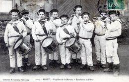 29   BREST  PUPILLES DE LA MARINE  TAMBOURS ET FIFRES - Brest