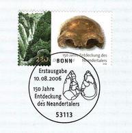 Allemagne / Germany (2006) Bonn: 150e Anni. Découverte Neandertal. Homme Préhistorique. Outils Silex Taillés Flint Tools - Préhistoire