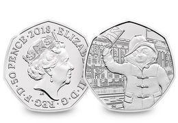 Great Britain, 2018, Paddington Bear At The Palace, 50 P 50 Pence - 1971-… : Monnaies Décimales