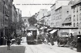 29   BREST   TRAMWAY RUE DE LA PORTE RECOUVRANCE - Brest