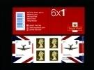 GREAT BRITAIN - SELF-ADHESIVE BOOKLET 6 X 1st  SPITFIRE  MINT NH  PM 25 - Markenheftchen