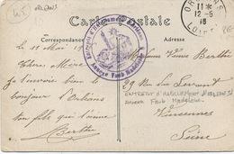 Cachet Militaire : 45 ORLEANS. - Guerre De 1914-18
