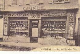 """AURILLAC : ETAB. """"CAUMEIL"""" BIJOUTERIE-HORLOGERIE.6 RUE DE L HOTEL DE VILLE.N.CIRCULEE.ETAT PARFAIT. PETIT PRIX.COMPAREZ! - Aurillac"""