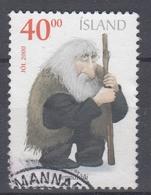 +Iceland 2000. Christmas. Michel 967A. AFA 952. Cancelled - Oblitérés