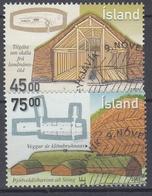+Iceland 2000. Architecture. Michel 965-66. AFA 950-51. Cancelled - Oblitérés
