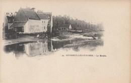 CPA  (14)  COURSEULLES SUR MER  Le Moulin  Moulin à Eau  Watermill Carte Nuage  Précurseur  (R.V)  D 323 - Courseulles-sur-Mer