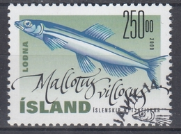 +Iceland 2000. Fish. Michel 961. AFA 946. Cancelled - Oblitérés