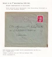 DDW795 - TRAVAILLEURS CIVILS BELGES En Allemagne - LettreTP Hitler 1943 - Lager 6 WATTENSTEDT - Guerre 40-45