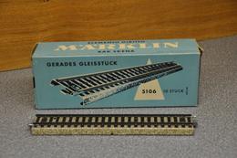 Märklin Rails 5106 10x Rails-gleisstuck En Orginele Verpakking - Rails