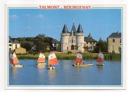 TALMONT SAINT HILAIRE-BOURGENAY -La Solitude.Entrée De La Chapelle N-Dame De L'Espérance (voiliers) ..à Saisir - Talmont Saint Hilaire
