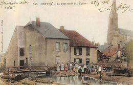 Matton La Passerelle Et L'église - Autres Communes