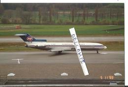 PHOTO AVION BOEING 727 JAT YOGOSLAV AIRLINES 1989 - Aviazione