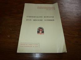 Discours Du Duce Prononcé à L'issue Des Grandes Manoeuvres Aout 1834 Benito Mussolini 22p - Geschiedenis