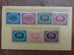 SAN MARINO 1870/95 - Lotticino Fine '800 Nuovi * + Spese Postali - Nuovi