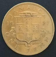 JAMAIQUE - JAMAICA - 1 ONE PENNY 1937 - George VI - KM 29 - Jamaique