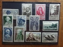 FRANCIA - Giornata Del Francobollo 1945/1957 Nuovi ** (escluso 1955) + Spese Postali - Francia