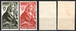 SAHARA SPAGNOLO - 1953 - Woman Musician - MH - Sahara Spagnolo