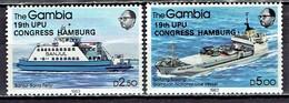 Gambia - Mi-Nr 529/530 Postfrisch / MNH ** (w708) - Schiffe