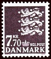 1989 7.7 Kr Mint Light Hinged - Nuovi