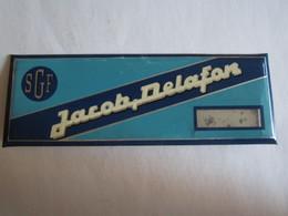 Publicité Plaque Publicitaire Glacoide SGF Jacob Delafon - Advertising (Porcelain) Signs