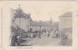 CPA - Chatenois (88) Vosges - Rue De Curtille - Chatenois