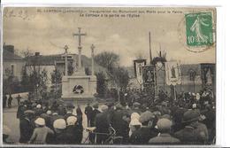 CAMPBON N 35   INAUGURATION MONUMENT AUX MORTS  CORTEGE SORTIE DE LEGLISE   FOULE DEPT 44 - Otros Municipios
