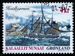 Greenland 2002   Ship Journey    Minr.382  ( O ) ( Lot  D 1627  ) - Usados