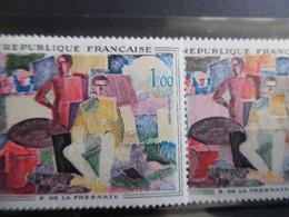 N°1322 Variété Fond Rose Au Lieu De Jaune Paille - Andere
