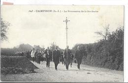 CAMPBON N 1645  PROCESSION DE LA STE BARBE   PERSONNAGES CORTEGE DEPT 44 - Otros Municipios