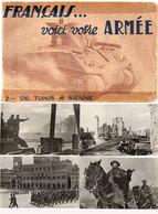 Français ... Voici Votre Armée - De Tunis A Sienne - Série Complète De 20 Cartes - De Gaulle - Chars, Canons... (118605) - Guerre 1939-45