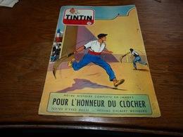 CB18 Tintin N°39 1953 Pelote Basque Tintin Essai Fiat 1900 - On A Marché Sur La Lune - Tintin