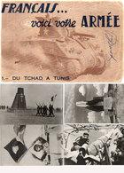 Français ... Voici Votre Armée - Du Tchad A Tunis - Série Complète De 20 Cartes - De Gaulle - Chars, Canons... (118606) - Guerre 1939-45