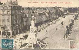 51 - REIMS - Place Drouet D'Erlon Et Fontaine Subé - Reims