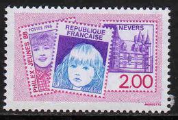 """FRANCE : N° 2529 ** (""""Philex-Jeunes 88"""", à Nevers) - PRIX FIXE : 1/3 De La Cote - - Unused Stamps"""