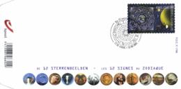 Belgium 2011 COB 4095 Mi. 4141 FDC, Zodiac, Zodiaque, Sterrenbeelden - Astrologie
